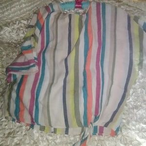 Striped with linen